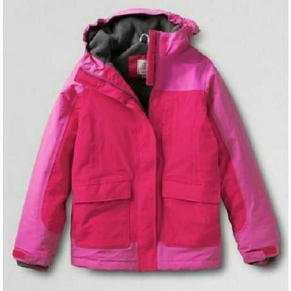 92e9f3cd3 Lands' End Jackets & Coats | Lands End Big Girls Squall Size 1012 ...